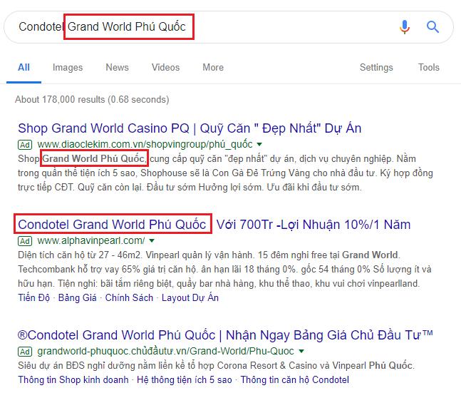 hướng dẫn cách tăng điểm chất lượng google ads