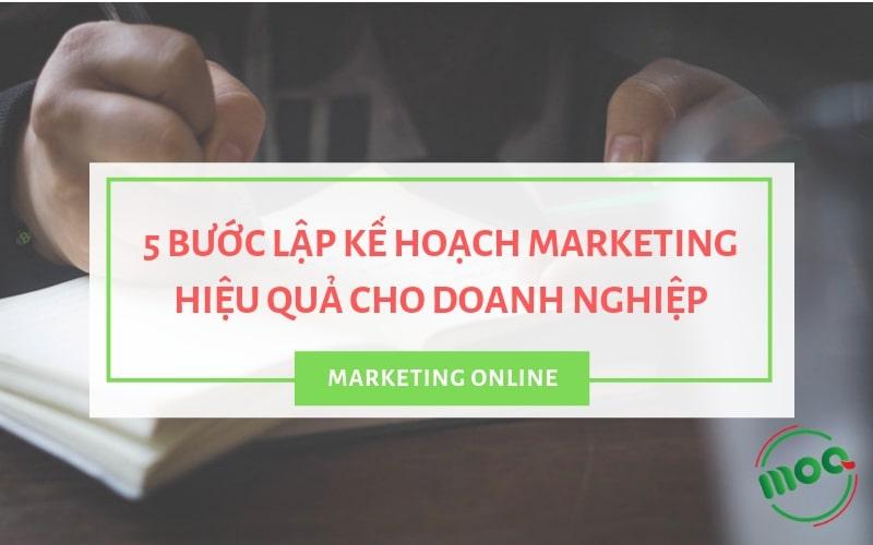 kế hoạch marketing cho doanh nghiep