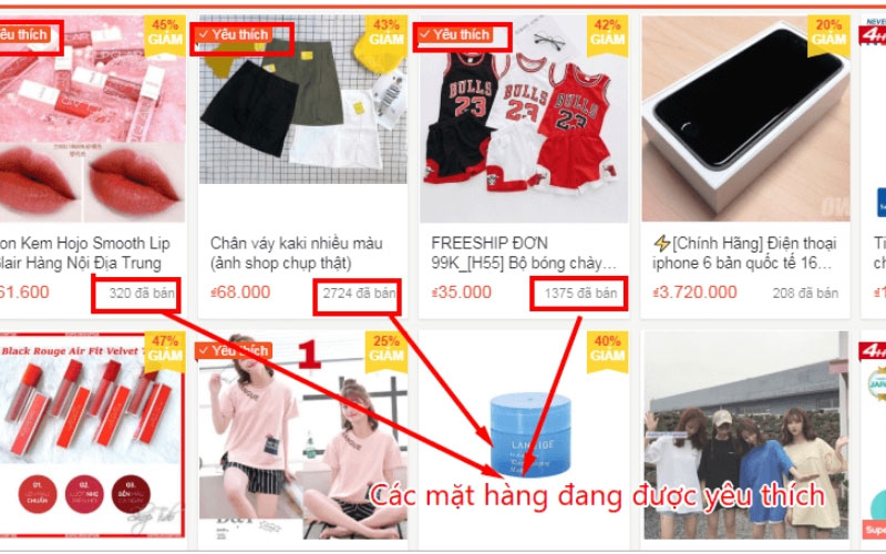 bán hàng online mỹ phẩm