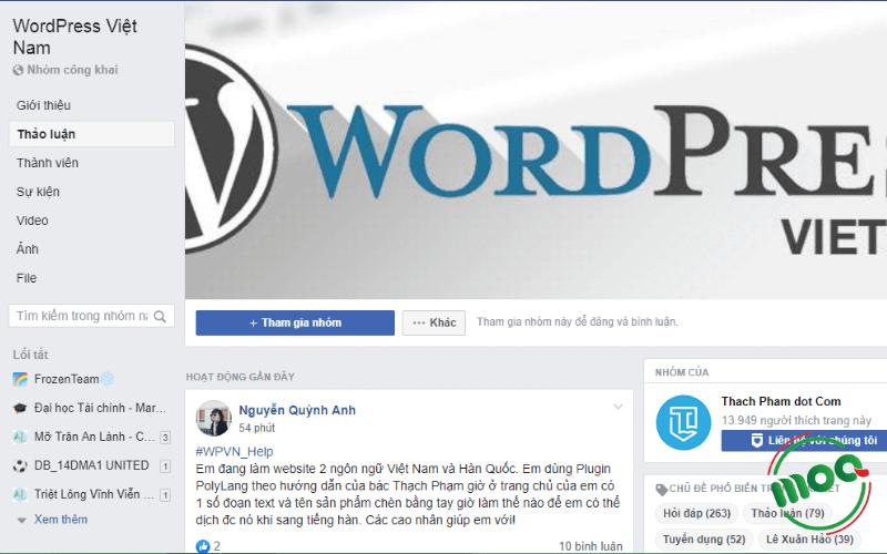 Cộng đồng trên Facebook