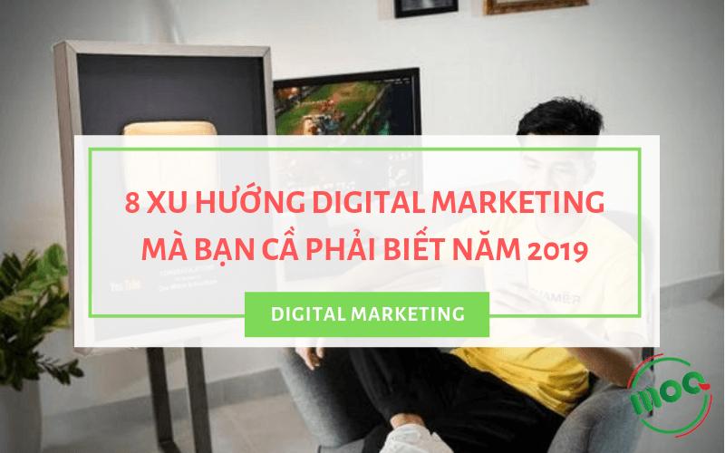 Ảnh đại diện xu hướng digital marketing