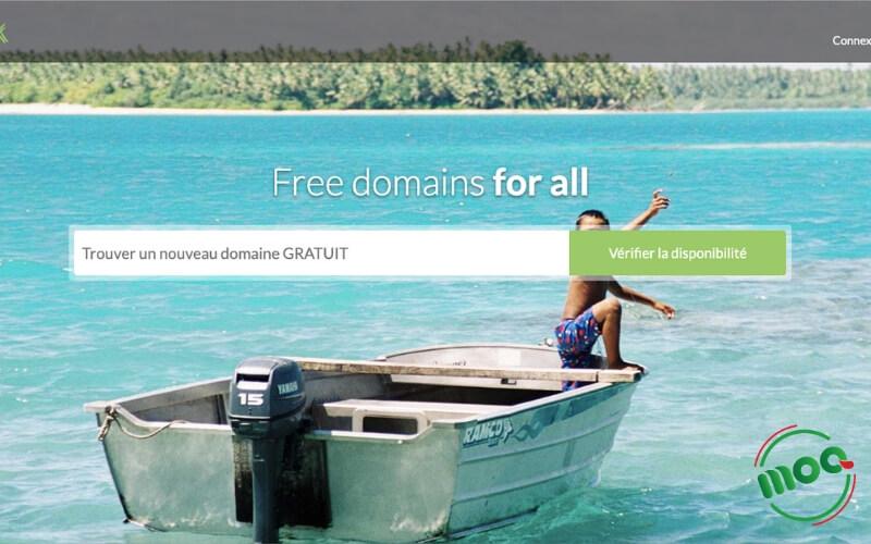 Đăng ký domain miễn phí dot.tk