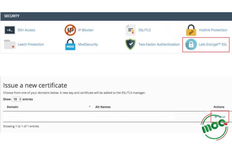 Đăng ký SSL miễn phí bước 1 & 2