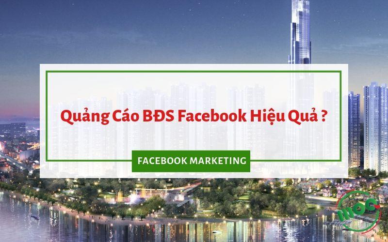 Quảng cáo BĐS trên facebook