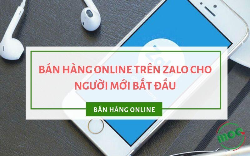 Bán hàng online trên Zalo