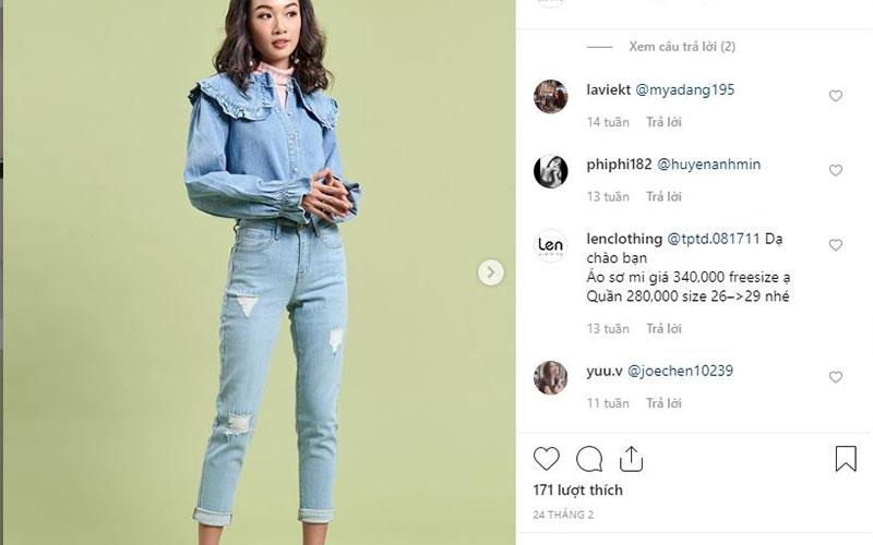 bán hàng trên instagram