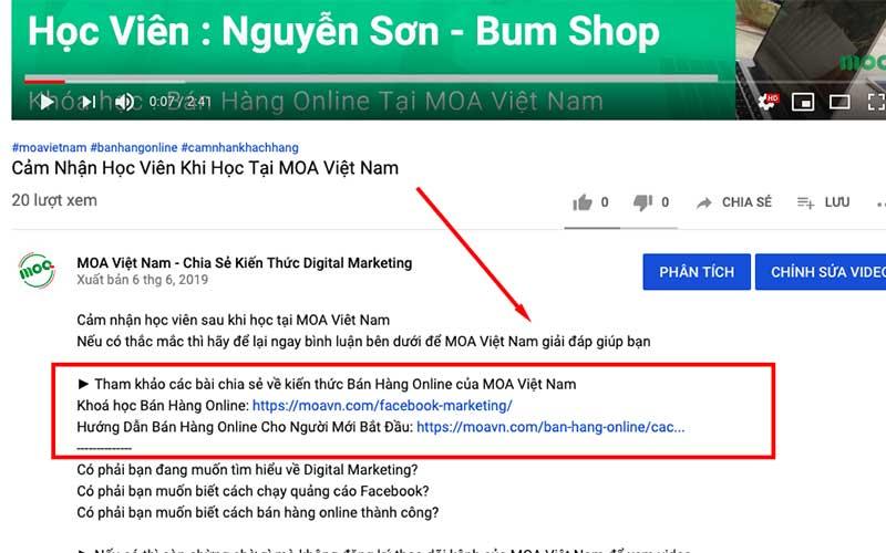 cách bán hàng online đắt khách trên youtube