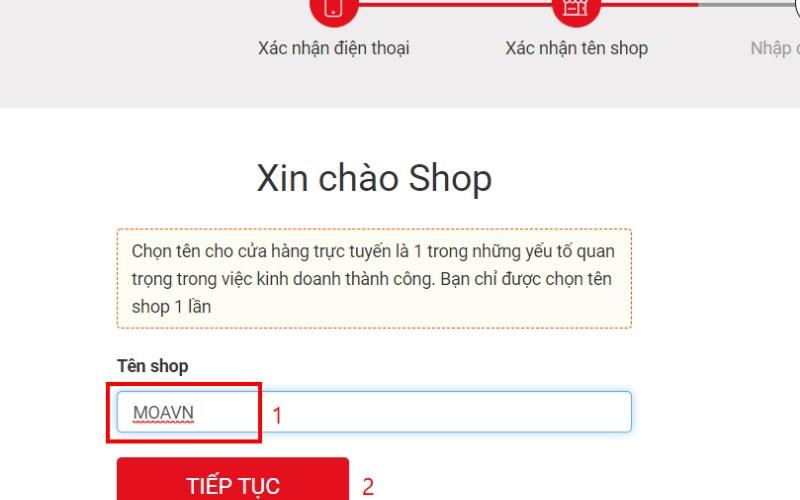 Bán hàng online trên sendo