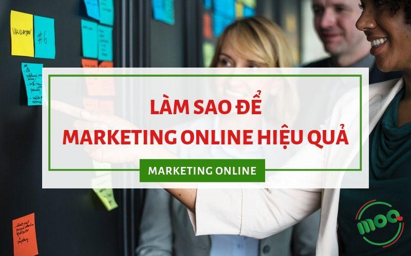 Ảnh đại diẹn làm sao marketing online hiêu quả