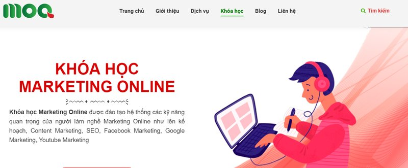 Học Marketing Online ở Moa Việt Nam