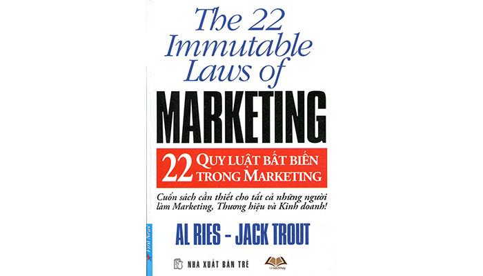 sách 22 quy luật bất biến trong marketing