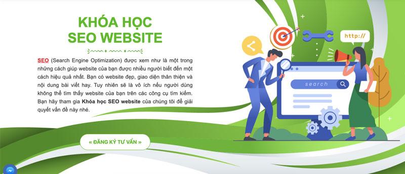 Khoá học seo website