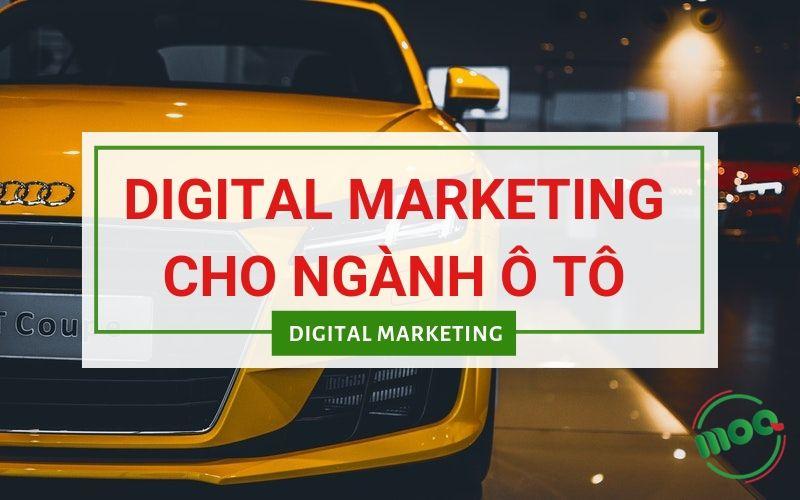 Digital Marketing Cho Ngành Ô tô