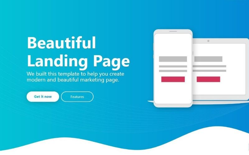 <centẻ>landing page</center>