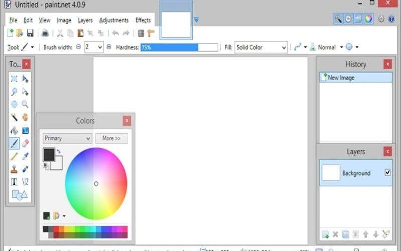 phần mềm chỉnh sửa ảnh paint