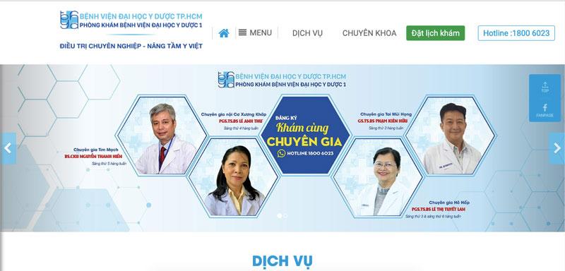 Website phòng khám